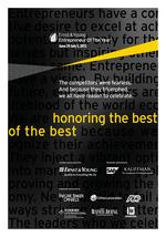 Mountain Desert 2012 Entrepreneur of the Year awards: The process