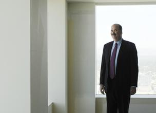 Mike O'Donnell, chairman at Wheeler Trigg O'Donnell, stands in the firm's new office space at Republic Plaza. The move is planned for June 15.