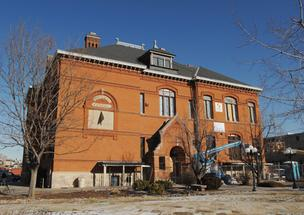 The National Trust for Historic Preservation is in the midst of a $3.2 million rehab of the Emerson School at 1420 Ogden St., built in 1885. Preserving the historic nature of the school is a factor when refurbishing an old building.