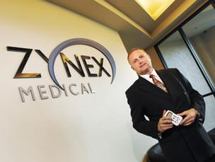 Thomas Sandgaard, president and CEO of Zynex Inc.