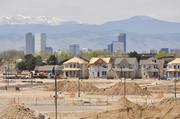 Residential construction continues as development of Stapleton progresses.