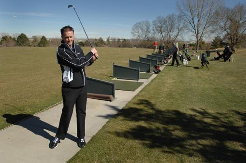 Dave Steinmetz, director of golf at the Inverness Golf Club in Englewood, says despite recent drops in memberships, he is optimistic for the future.