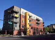 "The Highland Park Apartments at 2424 W. Caithness Place in Denver is a 125-unit complex in the trendy LoHi neighborhood, known as the ""Core Power Apartments."" It follows the new trends for apartments such as smaller living spaces and energy efficiency."