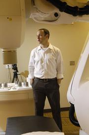 Mark Frank was an investing partner at Denver Cyberknife, pictured here in August 2011, when he began thinking about the future of imaging practices.