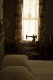 This bedroom is called the Tobin Room for John and Johanna Tobin, Margaret (Molly) Brown's parents, who lived out their lives in the Brown home.