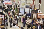 Business vendors and exhibitors from around the country bring their latest products to the National Western Stock Show every year.