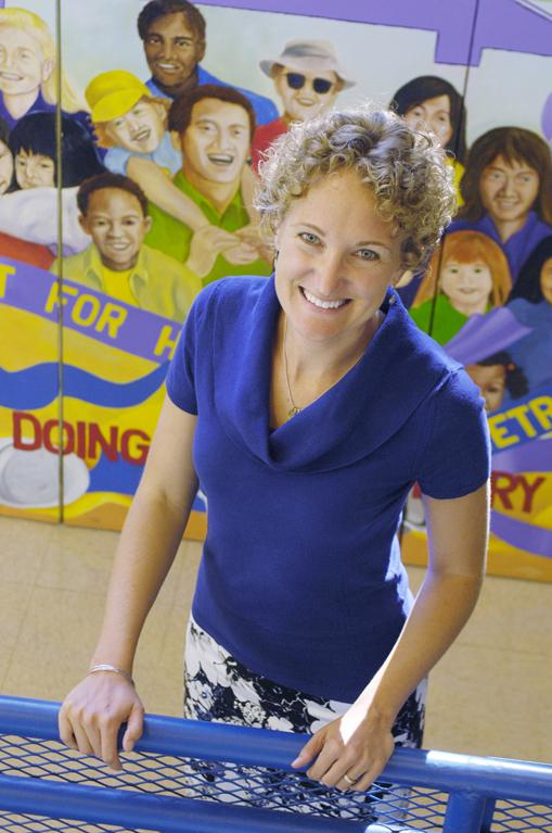 Heather Lafferty, executive director and CEO of Habitat for Humanity of Metro Denver, has been with the organization for 12 years.