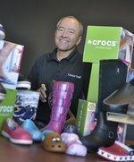 Croc's John McCarvel turns Colo. shoemaker around