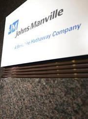 Todd Raba, outgoing CEO of Johns Manville, in an October photo.
