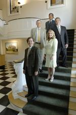 White-collar crimes put <strong>Haddon</strong>, Morgan and Foreman in the black