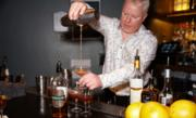 DeclanByrne creates the Fàilte (which is gaelic for welcome) using Kilbeggan Irish Whiskey. Here's the recipe:2 parts Kilbeggan Irish Whiskey⅓ part Amaretto Liqueur¼ part Cherry Syrup½ part Fresh Lemon Juice5 dashes Chocolate BittersMethod: Add all ingredients with ice to a cocktail shaker. Shake vigorously and strain into a chilled martini glass.