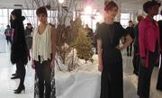 Heather Lawton's fashion show took place in a Midtown loft overlooking the Hudson River.