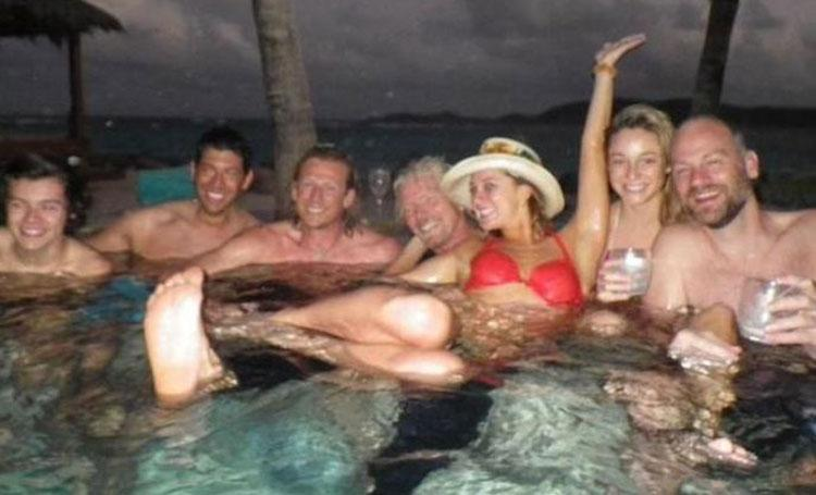 Harry Styles (far left) is considering moving to South Florida.