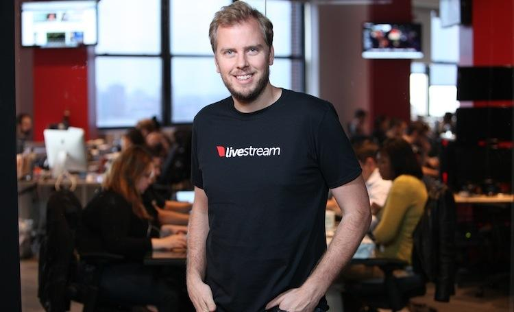 Max Haot, Co-Founder and CEO of Livestream.