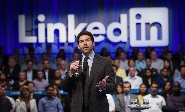 CEO Jeff Weiner has LinkedIn on a roll.