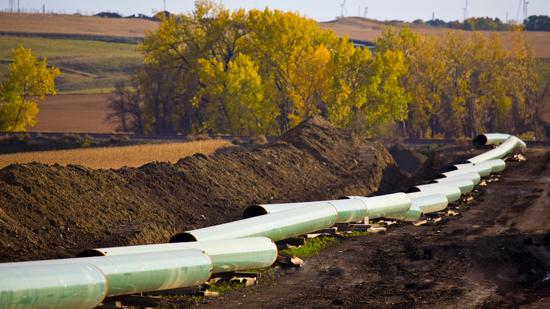 The U.S. Corps of Engineers has granted a permit for the southern portion of the Keystone XL pipeline route.