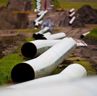 TransCanada has submitted a revamped route for the southern portion of the Keystone XL Pipeline.