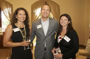 From left: Kimberly Bowron, Cadre Proppants; Jerry McGee, Cadre Proppants; Kim Schell, Houston Business Journal.
