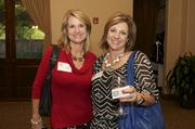 From left: Cheryl Campbell, TPI Staffing Inc.; Kathy Giddings, TPI Staffing Inc.