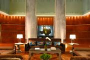 Inside the Magnolia Hotel's lobby.