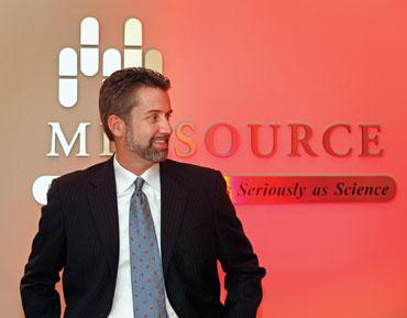 Eric Lund is CEO of MedSource.