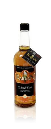 Kelly Railean, president and master distiller of Railean Distillers LLC, exclusively ferments, distills and bottles her product in the San Leon facility. Shown above, Railean Spiced Rum.