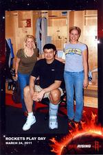Meeting Yao Ming, and sizing up the Rockets' playoff chances