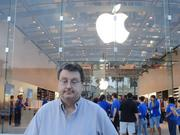 Terry Stibal was in line to buy a new iPad for his business.