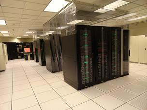 BP's supercomputer machinery will soon be housed in a new 110,000-square-foot new facility.