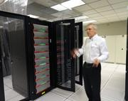 The new supercomputer will have a total memory of 536 terabytes and disk space of 23.5 petabytes.