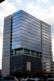 8. BBVA Compass Plaza - The 300,000-square-foot office tower is nearing completion (April 2013) at 2200 Post Oak Blvd. It is being developed by Dallas-based Stream Realty Partners LP and Redstone Real Estate, a division of Houston-based Redstone Cos.
