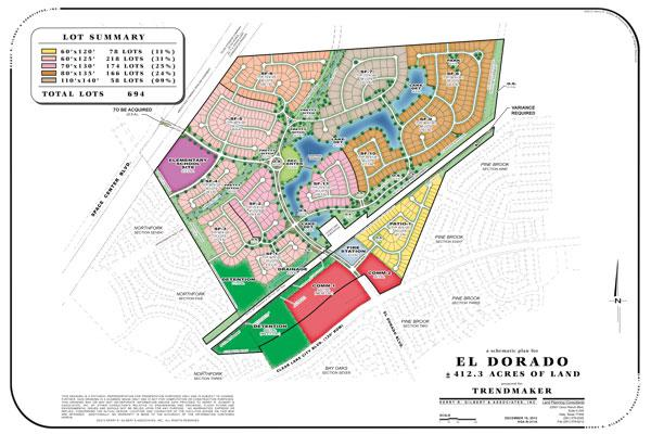 Trendmaker to build new 372-acre Clear Lake community - Houston ...