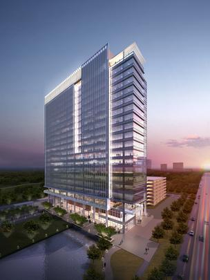 Dallas-based Trammell Crow Co.'s new expected break ground date was pushed to the end of January.