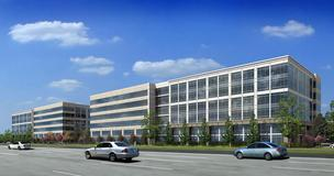 Rendering of the 245,000-square-foot Energy Crossing II, where Atwood Oceanics Inc. will move in November 2013.