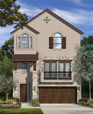 Taylor Morrison Homes will launch its first local townhome community in July when it completes a three-story model in Sugar Land.