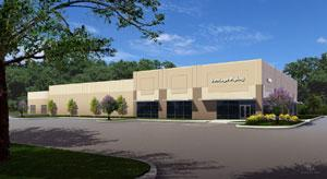Rendering of 23,000-square-foot building in Vantage Parkway Development.