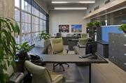 """""""Our employees love the space,"""" Fretz said. """"Our offices are full of natural light with the side windows and the skylight. And the view of the historic district of downtown is spectacular."""""""