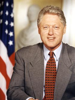 President Bill Clinton will be speaking at City Hall May 11.
