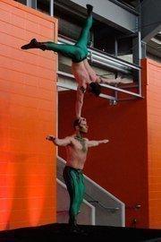 Performers at Statoil's OTC party at BBVA Compass Stadium May 1.