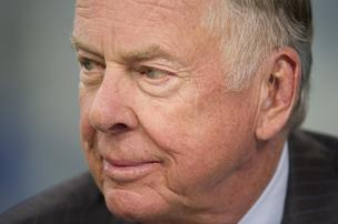 T. Boone Pickens spoke at Winter NAPE in Houston
