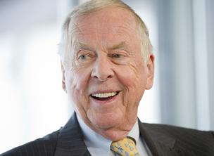 T. Boone Pickens reflects on his life.