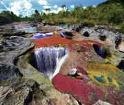 The Crystal River in Colombia, South America