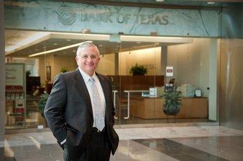 Randy Walker, Houston region CEO of Bank of Texas