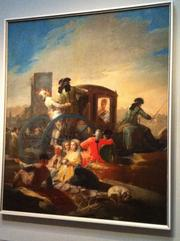 The Crockery Vendor, by Francisco de Goya, 1778. Oil on canvas.
