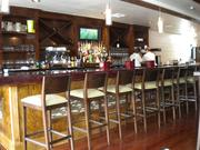 Sale-Sucre features a fully stocked bar and wine list.