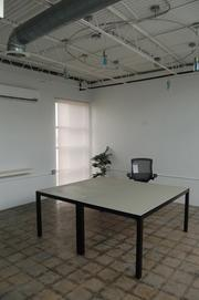 Start's conference room, which can be rented by the hour.