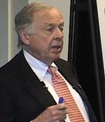 Houston companies along for the ride as Pickens touts natural gas vehicles