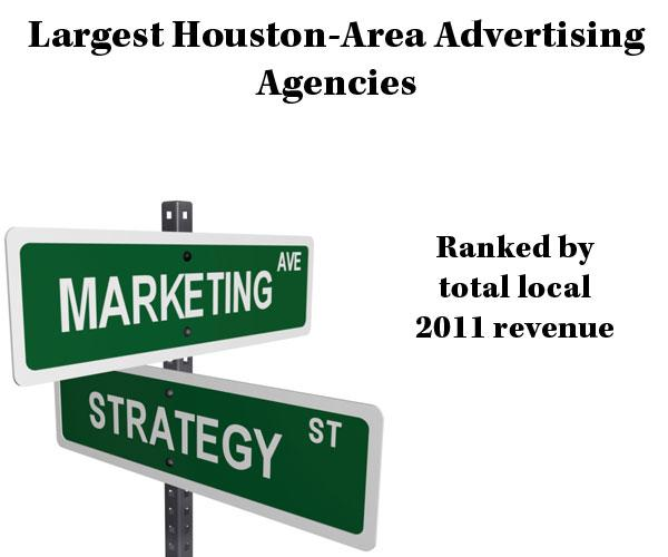 Click through for a slideshow of the top five companies on the Largest Houston-Area Advertising Agencies list.