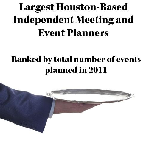 Click through to see a slideshow of Houston's top meeting and event planners, catering companies and hotels.