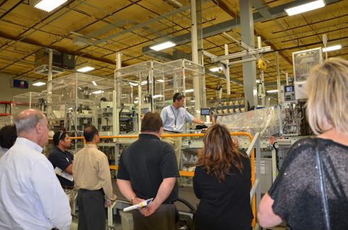 Toshiba began making Ford hybrid motors at its plant in Houston in October.
